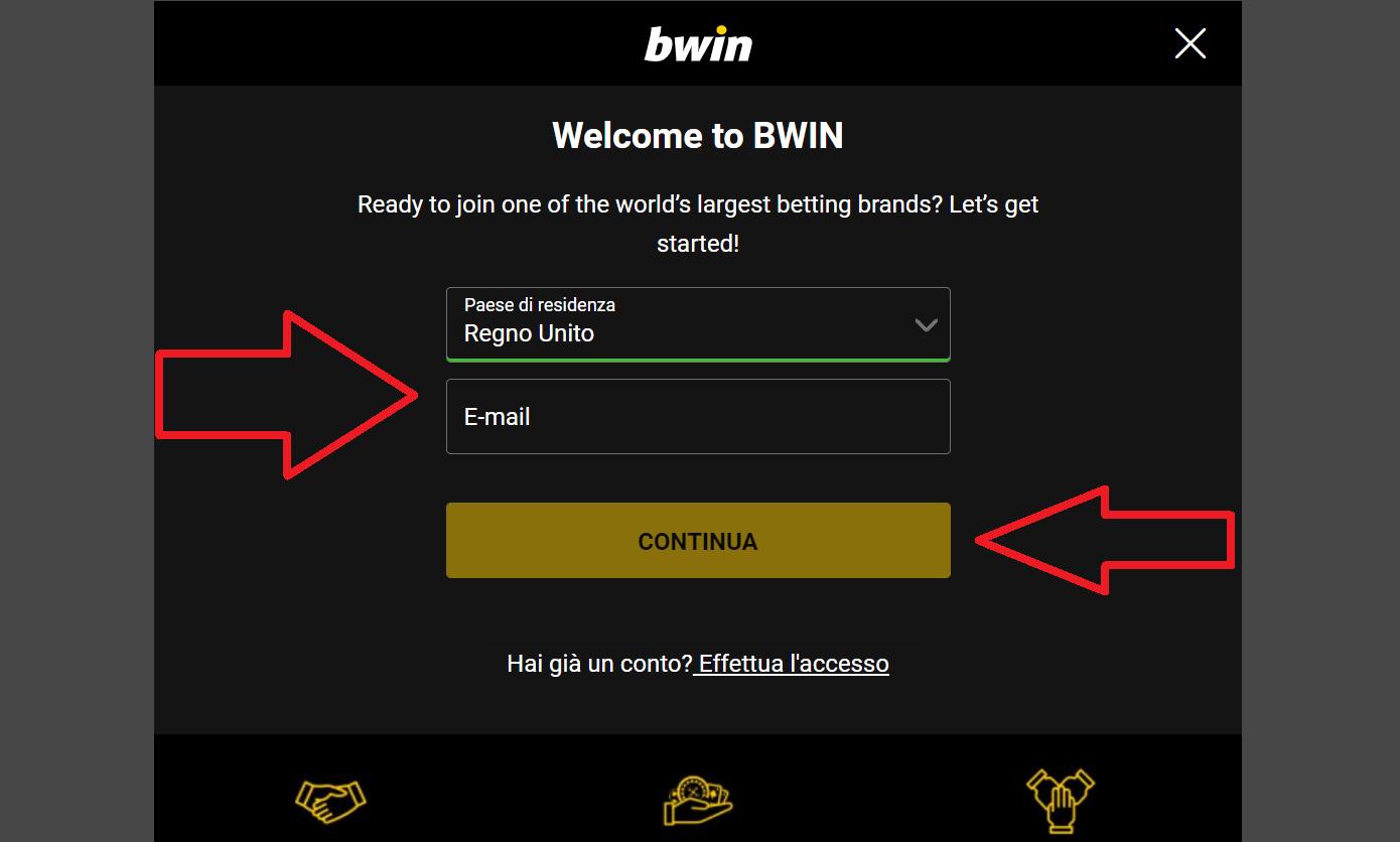 Come arruolarsi con Bwin Bonus Code?